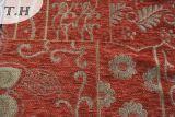 Tela roxa para o sul - americano do sofá do Chenille da cor do Chenille