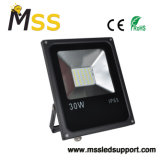 30W 8hours 노동 시간을%s 가진 높은 루멘 LED 재충전용 투광 조명등