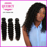 8Um cabelo Quercy Onda profunda trama de cabelo Virgem Remy Cabelos Europeu