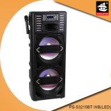 Удваивает системы PA Bluetooth света силы 15 дюймов диктор PS-53215bt-Wb большой портативный (СИД)