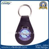 La clave de alta calidad de la cadena con placa de metal