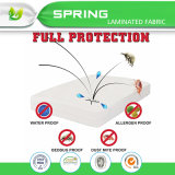 Protector impermeable hipoalérgico del colchón y protector de la almohadilla