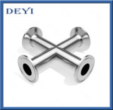 Hygienic Ss304 Stainless Steel Threaded Bsp Cross Fitting