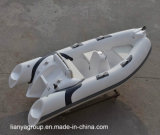 Liya 12.5feet rigid Inflatable Dinghy rubbed Boats Inflatable Fiberglass