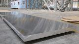Piatto di alluminio del grado marino con superiore
