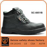 作業本革の安全靴および安全靴の製造業者の中国Sc8851bのためのSaicouの履物