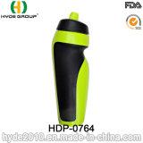 600ml de draagbare Vrije Plastic Sporten die van de Fiets BPA Fles drinken (hdp-0764)