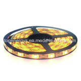 2 en 1 tira ajustable del CCT SMD5050 LED del color dual de la viruta