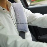Coperchio caldo della cinghia della cintura di sicurezza dell'automobile della pelle di pecora di inverno
