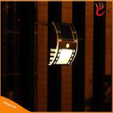 Licht van de Muur van de Sensor van de motie het Zonne Openlucht voor de Lamp van de Straat en van de Tuin