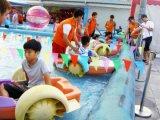 プールの水公園のゲームのための大人のかいボート