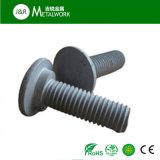 Kohlenstoffstahl HDG/Hot BAD galvanisiert ringsum Hauptschraube (DIN603)