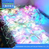 diodo emissor de luz da cor cheia DMX de 3cm no CI para o caráter luminoso