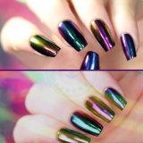 Изменение цвета металлик лак для ногтей Блестящие цветные лаки порошок Chameleon пигмента