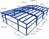 Fabricação estrutural de aço e oficina da construção de aço e casa do Prefab da construção de aço