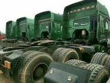 使用されたSinotruck HOWO Rhd LHD 8/4 6/4台のダンプのトラクターのトラック