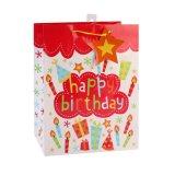 Sacos de papel do presente da forma do brinquedo da roupa da lembrança do balão do aniversário