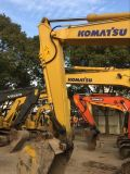 Excavador usado de la correa eslabonada de KOMATSU PC130-7 del excavador de KOMATSU 13ton