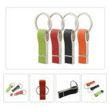 Горячая продажа натуральной кожи флэш-накопитель USB 8 ГБ 16ГБ 32ГБ 128 ГБ с кольцом