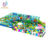 Diapositiva de interior modificada para requisitos particulares aprobada de los niños con el equipo suave del patio de los cabritos