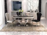 Mobilier de salle à manger européen de style de luxe Table à manger