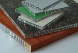 木および石造りの質壁のクラッディングシステムのためのアルミニウムサンドイッチシート