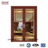 Дверь высокого качества алюминиевая стеклянная от верхнего поставщика в Китае