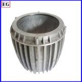 En aluminium faits sur commande de radiateur de lampe de DEL le moulage mécanique sous pression