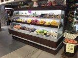 2018 신제품 Multideck 청과를 위한 열려있는 전시 냉각기