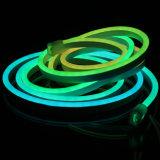 IP68 kleur die het Digitale LEIDENE DMX Flex Licht van het Neon veranderen