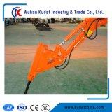 Mini excavadores anaranjados de la correa eslabonada 1.8 toneladas con el compartimiento de 0.06m3/230m m