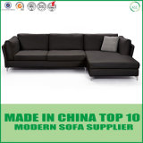 Modern White Genuine Leather Feather Sofa Living room Room Furniture