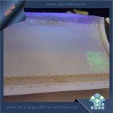 워터마크와 UV Fiber Paper Certificate