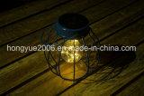 Солнечного Света металлические утюг Art дома оформление фонарем освещения