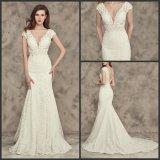 Кружевной свадебные платья Русалки устраивающих свадьбу платье Wan42