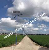 6m 25W村のプロジェクトのための太陽LEDの街灯