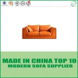 Nordisches Wohnzimmer-Möbel-moderner Entwurfs-Leder-Sofa