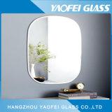 Frameless ha smussato lo specchio ovale del bagno della mobilia Mirorr/della pista Polished