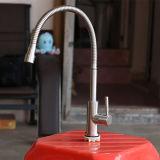 Misturador da cozinha do aço 304 inoxidável com calefator