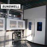 5Lによってびん詰めにされる水のためのSunswellのブロアの注入口のふた締め機のフルオートマチック機械