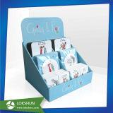 Cmyk, cajas de embalaje de cartón impresa Herramientas de la belleza, la unidad de visualización de la Encimera cartón CDU