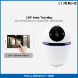 La batería sin hilos utilizó la cámara elegante del IP de la seguridad casera 1080P WiFi con el seguimiento auto de 360 grados