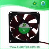 A C.C. sem escova axial 12V do ventilador de refrigeração mais baixo propala o ventilador de refrigeração 80*80*25mm