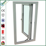 Alemão Veka UPVC Plastic Double Glazed Single Charmentação Window / Casement Windows