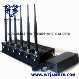 Регулируемое 3G4g весь Jammer сигнала сотового телефона & Jammer WiFi