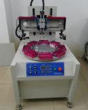 Flacher Bildschirm-Drucken-Maschine mit Drehtisch