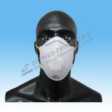 Máscara de polvo de la mascarilla N95 o Ffp2 con la válvula