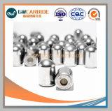 Botón de carburo de tungsteno de minería de bits de brocas de perforación de roca