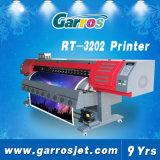Trazador de gráficos solvente grande del corte de la bandera de la flexión del vinilo de la impresora de la etiqueta del vinilo del formato 3D Eco de Garros