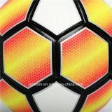 Le football en cuir de logo du Pakistan d'hybride fait sur commande de la taille 5